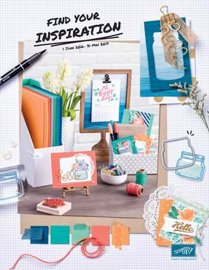Brand new Stampin Up Catalog goes Live June 1!  Order at www.thecreativitycave.com