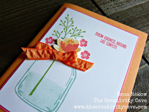 Video tutorial for making this super cute card using Stampin Up's Jar of Fun stamp set and coordinating framelits!
