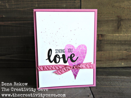 Video tutorial for this gorgeous card using Stampin Up's Summer Sorbet stamp set and Ombre Pad on my blog!