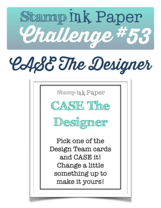 Join us for the Stamp, Ink Paper Challenge this week! Check out my take on this fun challenge on my blog, complete with video: www.thecreativitycave.com #stampinup #SIPChallenge #handmade #thecreativitycave