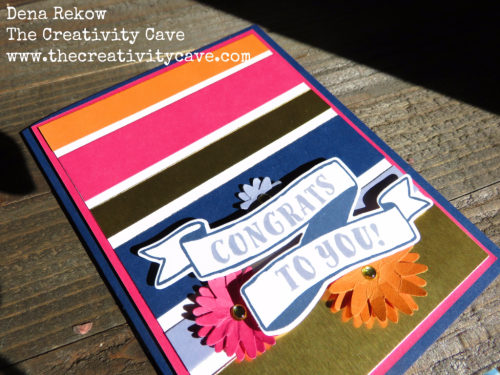 No Creative Juices? No Problem! Today's post has a great video on the process by which I was able to get out of my stamping funk.  Lots of great tips included with a card from start to finish #stampinup #thecreativitycave #stampersblock #creativity #handmade #videotutorial