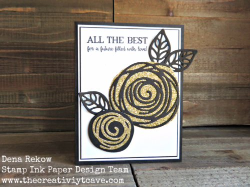 Check out the awesome video for how to make this STUNNING Wedding Card using Stampin Up's Swirly Bird Bundle and Better Together Stamp set on my blog at www.thecreativitycave.com #thecreativitycave #stampinup #swirlybird #onlineclasses #wedding #handmade