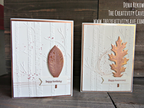 Check out my video tutorial for this awesome card on my blog with some great tips at www.thecreativitycave.com #stampinup #thecreativitycave #handmade #vintageleaves