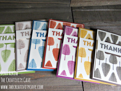 Awesome video on this super simple Monochromatic Card using Stampin Up's Totally Trees Stamp Set plus the One Big Meaning Stamp Set on my blog: www.thecreativitycave.com #stampinup #thecreativitycave #toatallytrees
