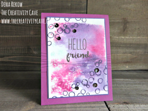 Check out the awesome video on this fun take on Block Stamping on my blog at www.thecreativitycave.com #stampinup #thecreativitycave #blockstamping #handmade