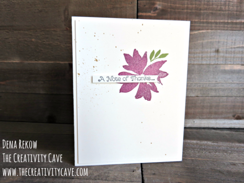 Join me with a fabulous Video Tutorial for this series of cards using Stampin Up's Blooms & Wishes Stamp Set on my blog www.thecreativitycave.com #stampinup #thecreativitycave #bloomsandwishes #create #watercolor