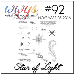 Check out my take on the Star of Light Stamp set on my blog at www.thecreativitycave.com #stampinup #thecreativitycave #staroflight