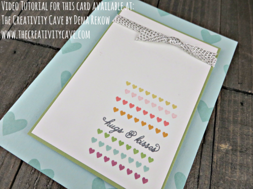 Video tutorial and more awesome ideas using the Sealed With Love Stamp Set from Stampin Up on my blog: www.thecreativitycave.com #stampinup #thecreativitycave #sealedwithlove