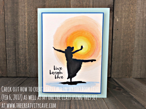 Check out my FB Live video on how to make this gorgeous sunshine card with Stampin Up's Beautiful You stamp set as well as a boxed set of cards plus how to get the card kit with everything you need to make them sent directly to you on my blog at www.thecreativitycave.com #stampinup #thecreativitycave #FacebookLive #beautifulyou