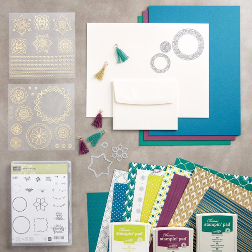 When you order the Eastern Palace Premiere Bundle, You'll receive a free PDF Tutorial from The Creativity Cave with over 25 project sheets!  www.thecreativitycave.com #stampinup #easternpalacebundle