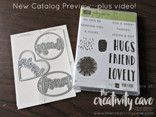 FB Live May 1 2017 7New Catalog Sneek Peeks!  Check out a whole bunch on my blog, www.thecreativitycave.com #stampinup #facebooklive #thecreativitycave #sneakpeek