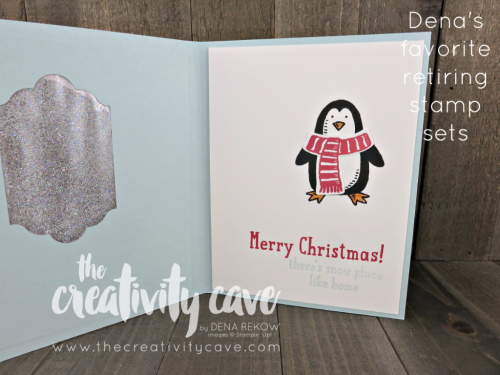 Snow Place is such a great stamp set and perfect for more than just Christmas!  www.thecreativitycave.com #stampinup #thecreativitycave