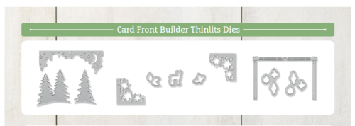 These are the Card Front Builder that coordinate with the Carols of Christmas Stamp Set that is free when you sign up as a demonstrator July 1-31, 2017. You can order them as part of your starter kit!  Details here: http://www.thecreativitycave.com/my_weblog/joining-my-stampin-up-family.html