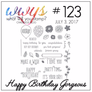 Check out my GORGEOUS card complete with Video Tutorial on my blog, www.thecreativitycave.com #stampinup #thecreativitycave #happybirthdaygorgeous
