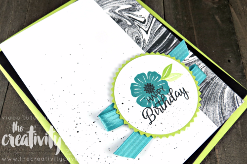 Check out the 5 AWESOME projects that we made during this week's Facebook Live on my blog using Stampin Up's Beautiful Bouquet, Background Bits, Marbled Background, Feather Together, and Painted Harvest Stamp Sets at www.thecreativitycave.com #stampinup #thecreativitycave #facebooklive
