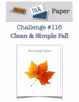 Check out my really simple card for this awesome challenge including a video tutorial on my blog at www.thecreativitycave.com #stampinup #thecreativitycave #sipchallenge