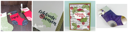 Fun projects I've created with Stampin Up's Tags and Trimmings Stamp set!  Check out more details on my blog! #stampinup #thecreativitycave #christmas #tagsandtrimmings #handmade