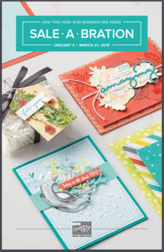 Make sure to take advantage of this year's amazing Sale-a-bration offering by ordering at www.thecreativitycave.com for VIP Rewards and fabulous perks! #stampinup #sab #saleabration #thecreativitycave