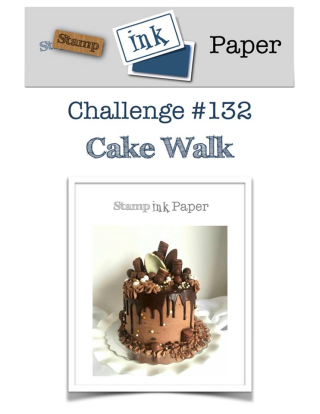 Check out my video tutorial for a project using Stampin Up's Cake Soiree suite of products to go with this week's SIP Challenge Theme: Cake Walk all on my blog at www.thecreativitycave.com #stampinup #thecreativitycave #cardmaking #papercrafts #diy #crafting #stamping #bigshot #cakesoiree #handmadegreetincards #silverembossingpaste