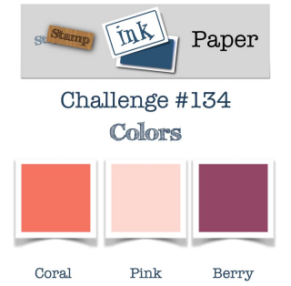 Check out my video tutorial for this awesome color challenge from Stamp Ink Paper on my blog at www.thecreativitycave.com #stampinup #colorcombo #thecreativitycave #paintedwithlove
