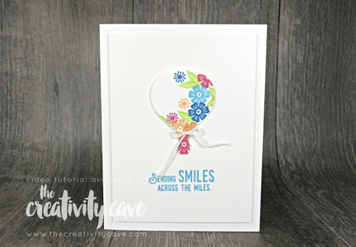 Check out the Friday Quickie Techniques and Tips Video Tutorial for this HAPPY card featuring Stampin Up's Beautiful Bouquet Stamp set and White Die Cut shapes on my blog at www.thecreativitycave.com #stampinup #fridayquickies #video tutorial #thecreativitycave #beautifulbouquet #boldbutterflythinlits #upandaway #liftmeup #thankyou #handmadegreetingcards #create #bigshot #cardmaking #papercrafts