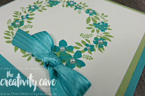 vCheck out the fun fold with video tutorial on my blog at www.thecreativitycave.com #stampinup #thecreativitycave #funfold #hellofriend #easy  #cardmaking #create #handmade