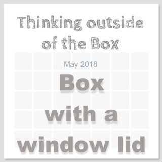 Check out a great video tutorial for a box with a window lid using Stampin Up's Daisy Delight Stamp Set on my blog at www.thecreativitycave.com #stampinup #thecreativitycave #thinkingoutsideofthebox #boxwithwindowlid #handmade #daisydelight