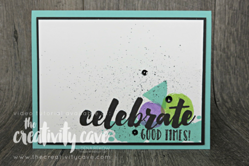 Check out the video tutorial for these three awesome cards using a fantastic color combo with new Stampin Up Colors: Coastal Cabana, Gorgeous Grape and Granny Apple Green on my blog at www.thecreativitycave.com #stampinup #thecreativitycave #colorcombo #cardmaking