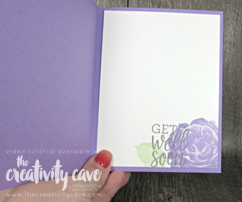 Check out this and 3 more fun cards on my blog complete with video tutorial at www.thecreativitycave.com Featuring Stampin Up's Healing Hugs Stamp set #stampinup #thecreativitycave #papercrafts #diy #ccardmaking #easy #healinghugs