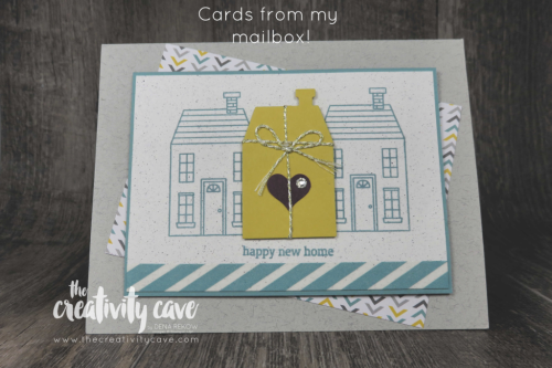 Cards from my mailbox!  www.thecreativitycave.com #stampinup #thecreativitycave