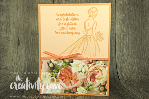 Great video tutorial featuring this and two more cards featuring printed papers from Stampin Up on my blog at www.theceativitycave.com #stampinup #thecreativitycave #printedpaper #cardmaking #handmadegreetingcards #petalpromenade #wonderfulmoments
