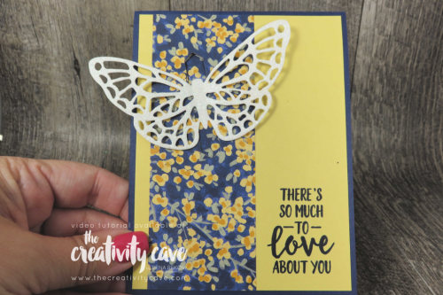 Check out this card plus 3 more from my FB Live on my blog at www.thecreativitycave.com featuring Stampin up's Abstract Impressions Stamp Set and coordinating Framelits  #stampinup #thecreativitycave #abstractimpressions #onlineclass