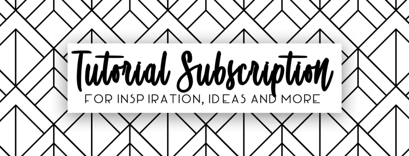 Tutorial Subscription banner