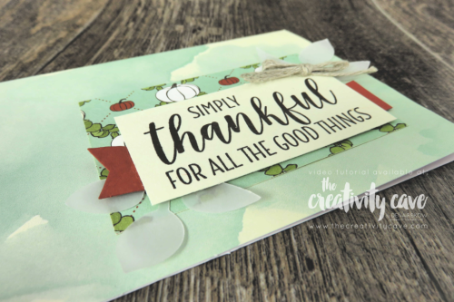 Check out the video tutorial on my blog for quick and easy cards to create using Stampin Up's Card kits (on sale through Oct 7, 2018 on my website for World Card Making Day at www.thecreativitycave.com #stampinup #thecreativitycave #cardmaking #wcmd #worldcardmakingday #videotutoriral #fridayquickie