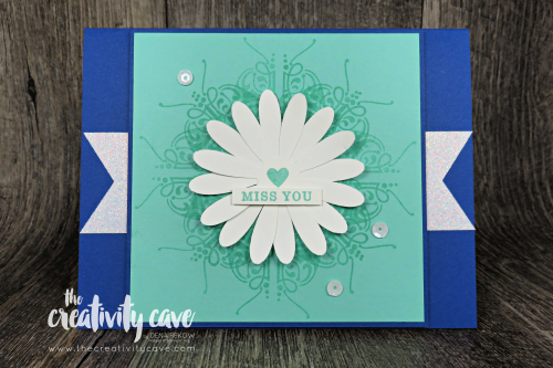 Check out my blog with Video Tutorial on how to create this gorgeous background using your Stamparatus! Great tips and tricks included, plus a bunch more projects! www.thecreativitycave.com #stampinup #thecreativitycave #handmadegreetingcards #saleabration #framelits #beautyabounds #alladorned  #stamparatus