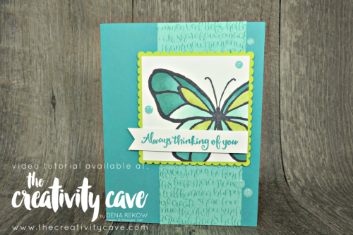 Awesome card featuring Stampin Up's Beautiful Day complete with video tutorial on my blog at www.thecreativitycave.com #stampinup #thecreativitycave #beautifulday #cardmaking #paper #stampinblends #alcoholmarkers