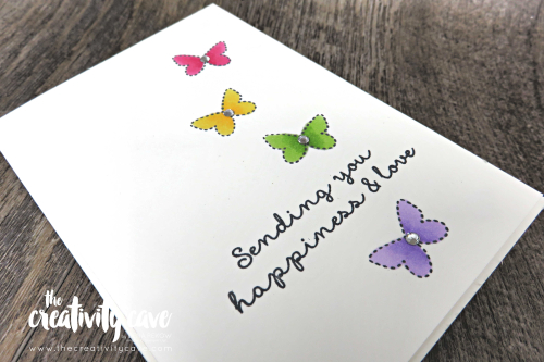 Super cute cards on my FB Live including some great tips and tricks! Check them out on my blog at www.thecreativitycave.com #stampinup #cardmaking #papercrafts #diy #alcoholmarkers #stampinblends #needleandthread