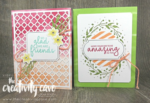 Check out the fabulous projects from this week's FB Live on my blog: www.thecreativitycave.com featuring Stampin Up's Ocasions Catalog products and you'll get a good laugh too!!  #stampinup #thecreativitycave #butterflygala #watercolor #brusho #Butterflyelements #saleabration #Incrediblelikeyou #incrediblelikeyouprojectkit #pieceofcake