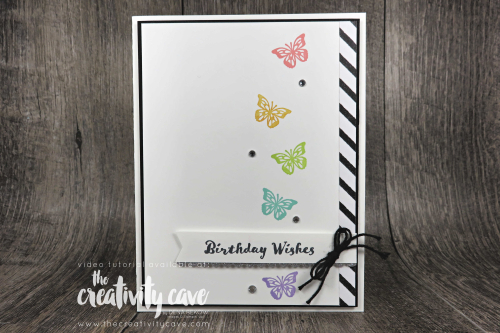 Simple to Stunning Sundays my new tutorial series geared at showing you how to stamp from simple and quick to stunning and fabulous including a video tutorial at www.thecreativitycave.com #stampinup #thecreativitycave #simpletostunningsundays #cardmaking #stepitup #beautyabounds #ittybittybirthdays