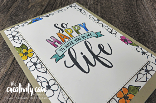 Super cute cards on my FB Live including some great tips and tricks! Check them out on my blog at www.thecreativitycave.com #stampinup #cardmaking #papercrafts #diy  #AmazingLifeBundle #stitchedrectangleframelits #watercolorpencils