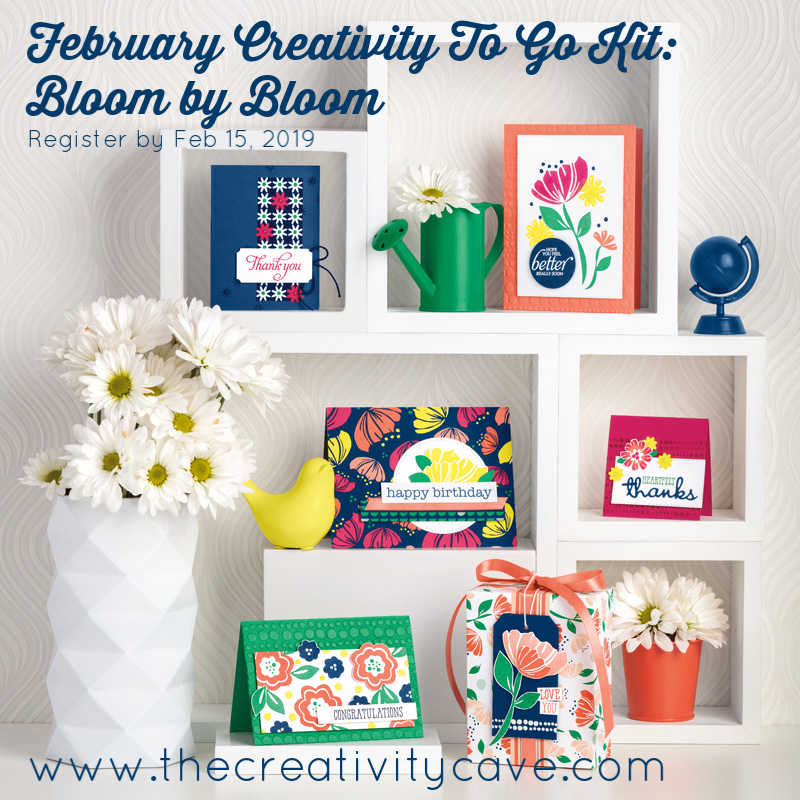 Bloom by bloom Creativity To Go Kit
