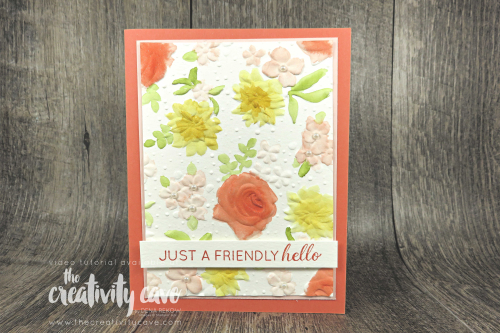 Check out the amazing projects featuring Stampin Up's Tabs For Everything, Painted Seasons's Bundle, All Adorned Stamp Set, Country Floral, Stamparatus, Strong and Beautiful and Lasting Lilly Stamp Sets! #stampinup #thecreativitycave #cardmaking #saleabrationsecondrelease #paintedseasons #alladorned #handmadegreetingcards #framelits