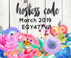 Hostess-Code March 2019