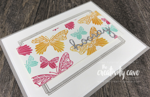 Check out the 3 fabulous cards with video tutorial for all 3 cards featuring Stampin Up's Swirly Frames Stamp Set along with the Tropical Chic, Happy Birthday Gorgeous and Butterfly Gala Stamp Sets on my blog at www.thecreativitycave.com #stampinup #thecreativitycave #handmadegreetingcards #videotutorial #bigshot #wellsaid #happybirthdaygorgeous