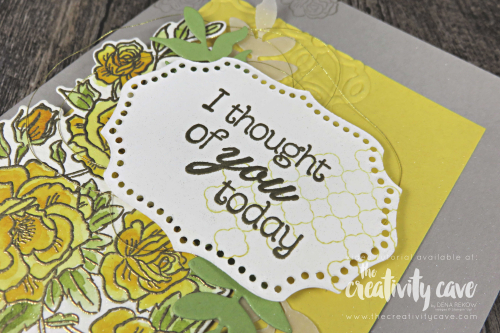 Video Tutorial Series, Simple to Stunning Sundays: How to Step Up your Card Vol 2 featuring Stampin Up's Cliimbing Roses Stamp Set on my blog at www.thecreativitycave.com #stampinup #thecreativitycave #climbingroses #watercolor #handmadegreetingcards #rubberstamping #papercrafts