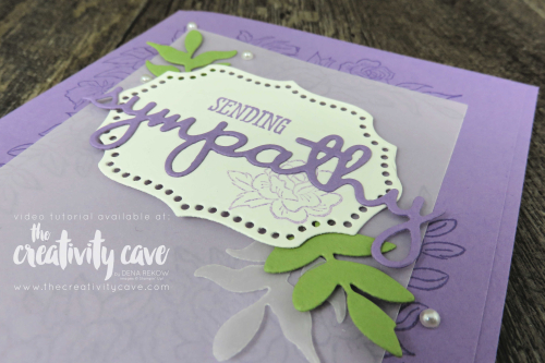 Check out the video and 5 fabulous cards that I created during my Facebook Live! at www.thecreativitycave.com #stampinup #thecreativitycave #bigshot #handmade #sympathy #climbingrosesbundle #wellsaidbundle