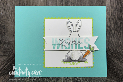 Check out the video and 5 fabulous cards that I created during my Facebook Live! at www.thecreativitycave.com #stampinup #thecreativitycave #bigshot #handmade #bestbunnystamp #bunnybuilderpunch