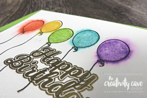 Check out the video and 5 fabulous cards that I created during my Facebook Live! at www.thecreativitycave.com #stampinup #thecreativitycave #bigshot #handmade #blowoutthecandles #watercolor #birthday