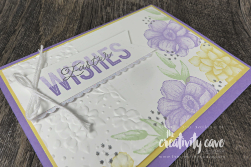 Check out my awesome video on how to create two gorgeous floral cards using fun spring color palettes with Stampin Up's Painted Seasons and Abstract Impressions on my blog at www.thecreativitycave.com  #stampinup #abstractimpressions #paintedseasons #partofmystory #storylabelpunch #embossingmats #morethanwords