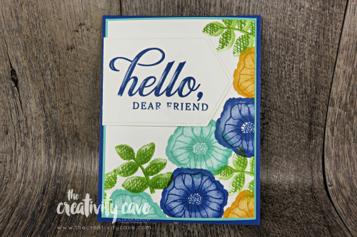Check out the video on my blog showcasing a fun closure for your cards featuring Stampin Up's Oh So Eclectic and Life is Grand Stamp Sets as well as the new Stitched Nested Label Dies  at www.thecreativitycave.com #stampinup #framelits #thecreativitycave #stitchednestedlabels #ohsoeclectic #funfold